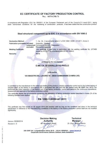 Certificato-IIS-Cert-omeca