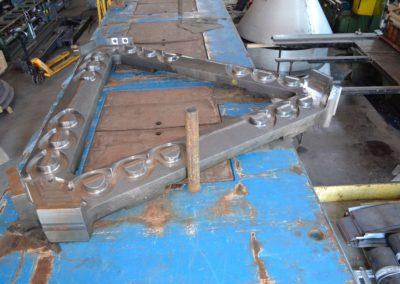 Roller Press Arm Frame