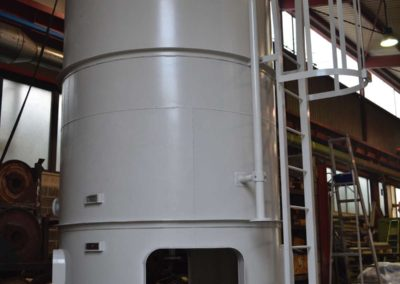 Sulfate solution tank