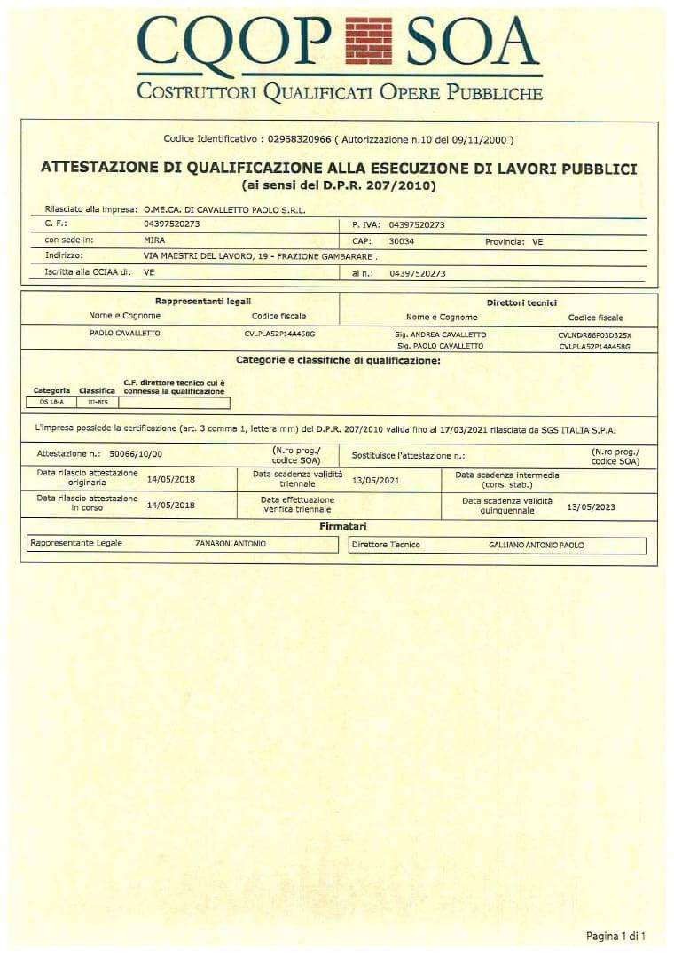 SOA Certificato 50066_10_00